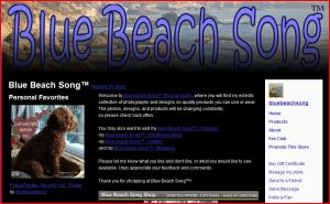 Blue Beach Song Shop at Zazzle: Blue Beach Song photographs and designs on products you can use, wear and customize.