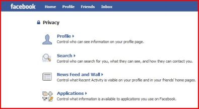 Facebook Privacy Settings - Make sure to thoroughly review these and adjust your settings to protect yourself!