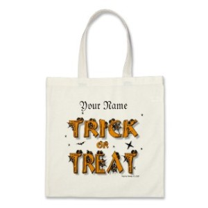 Trick-or-Treat Bag (#8) by Blue Beach Song