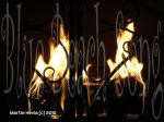 Fire in the Fireplace –WP