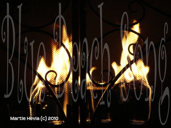 Fire in the Fireplace - WP