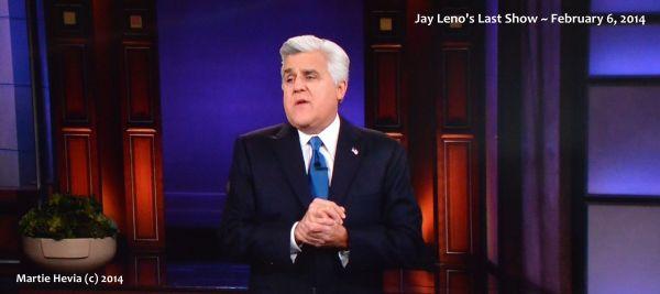 Jay Leno's Last Show - 2014 February 6