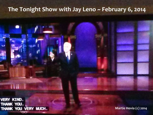 The Tonight Show with Jay Leno - 2014 February 6
