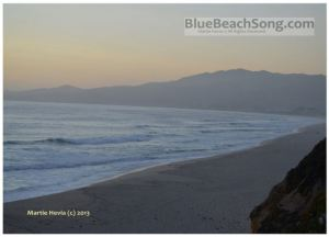 Dusky Beach - BlueBeachSong.com - WM